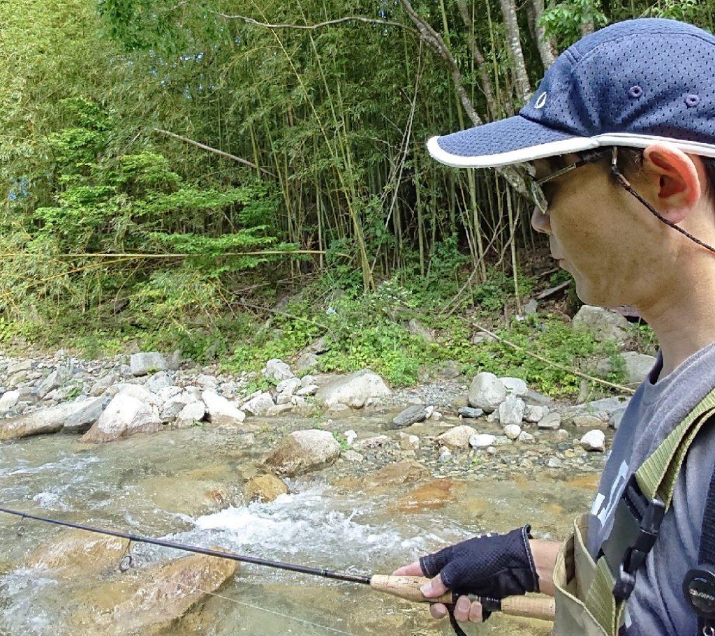 渓流釣りは楽しいです