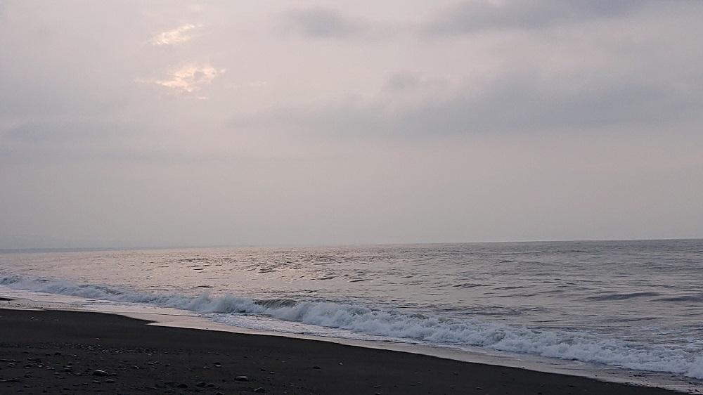 早朝の富士川河口東本店様