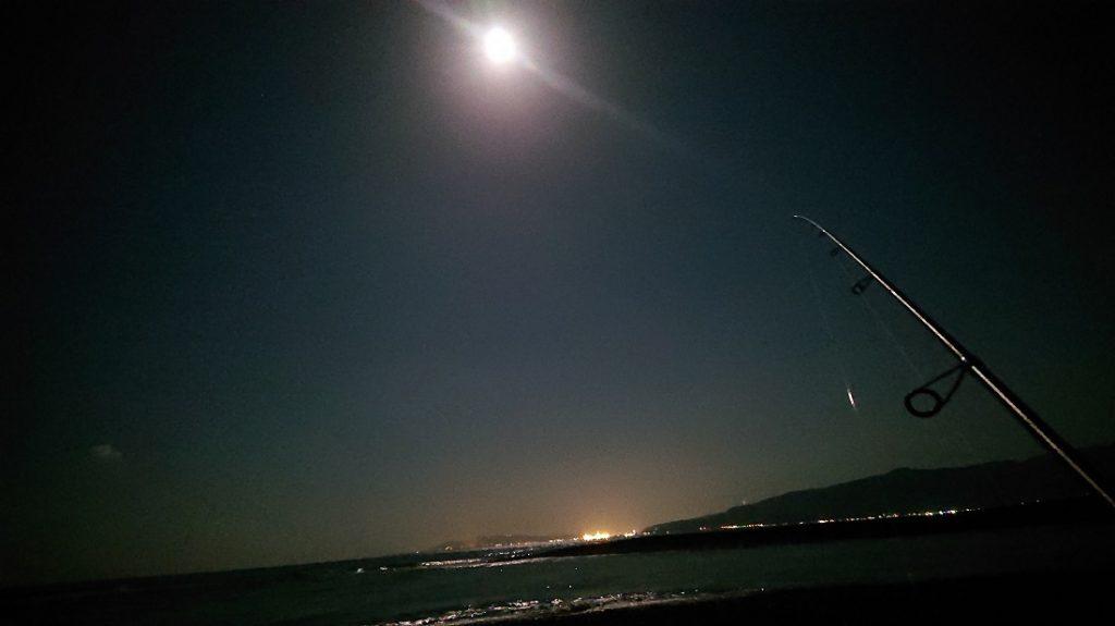 満月がとても綺麗!