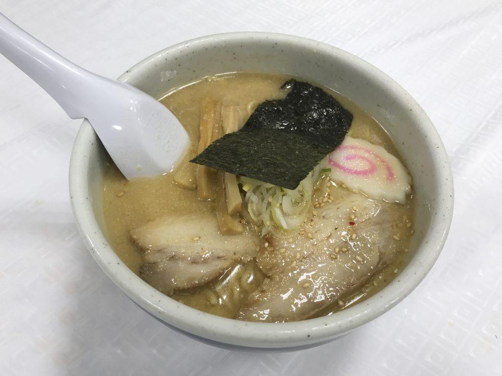 岡島物産展でいただいた山頭火さんの「塩ラーメン」