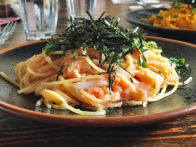 明太子・いかスパゲティの写真