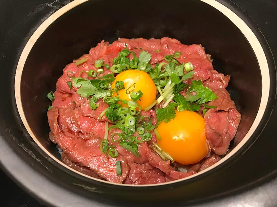 ひつまぶし風 牛の炊き込みご飯の画像